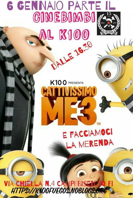 CINEBIMBI - Cattivissimo Me 3