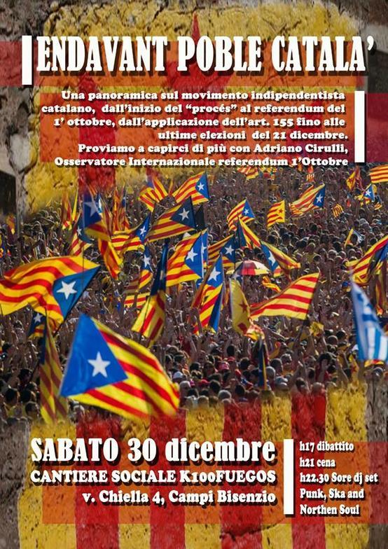 Endavant poble catala'