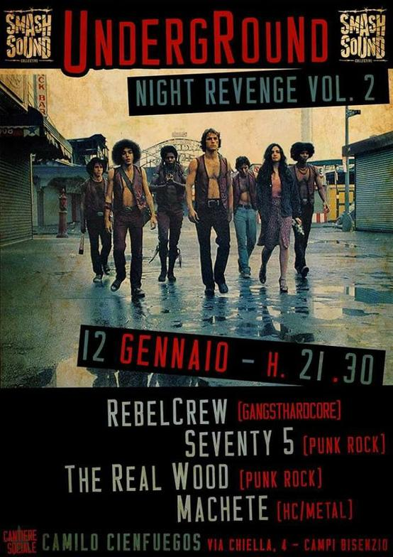 Night Revenge vol.2 - Rebel Crew Machete Seventy5 The Real Wood