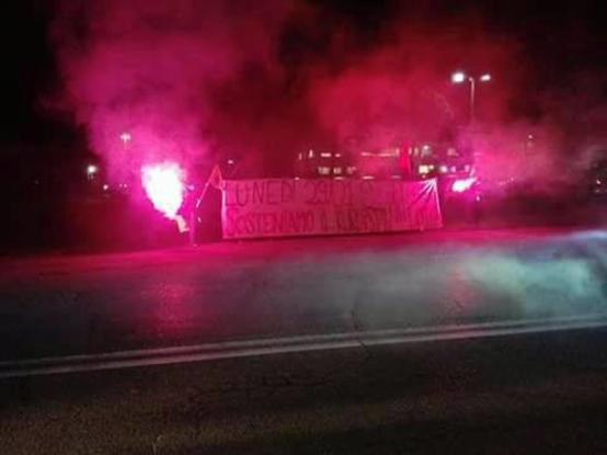 Giornata di mobilitazione e protesta sotto la sede di Leonardo-Finmeccanica