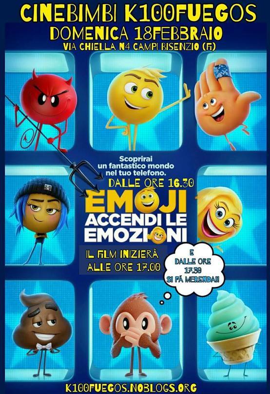 cinebimbi Emoji accendi le emozioni