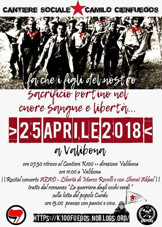 25 Aprile Valibona 2018