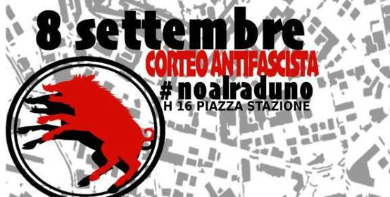 Corteo antifascista a Grosseto
