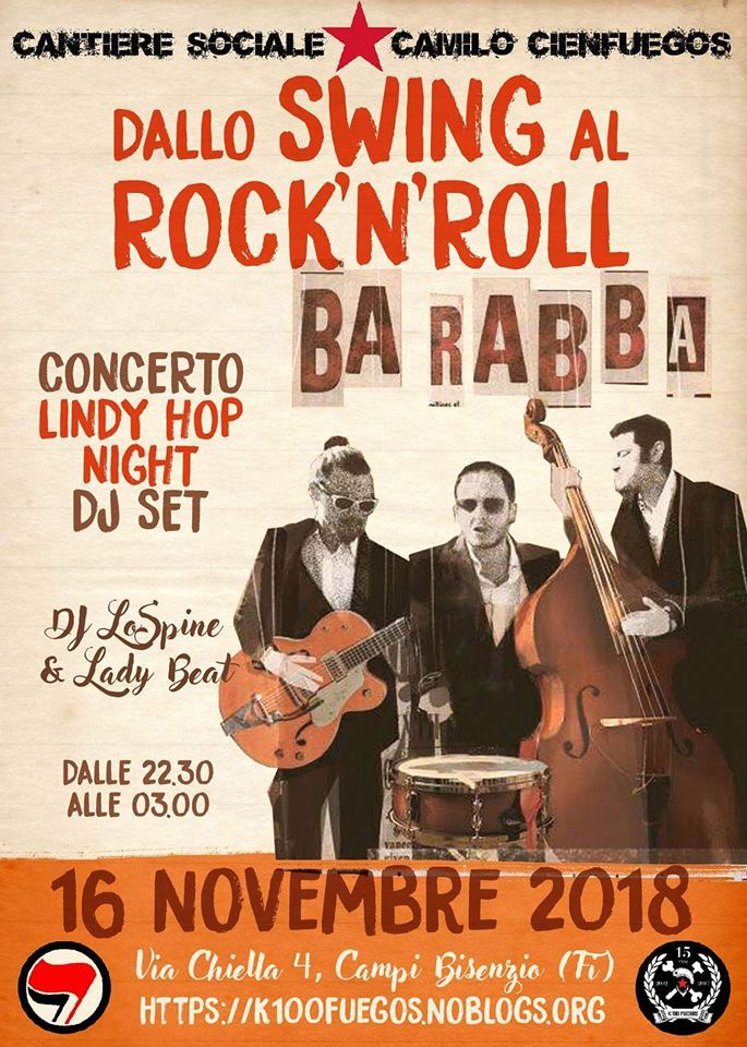 Dallo Swing al Rock&Roll - Lindy Hop night