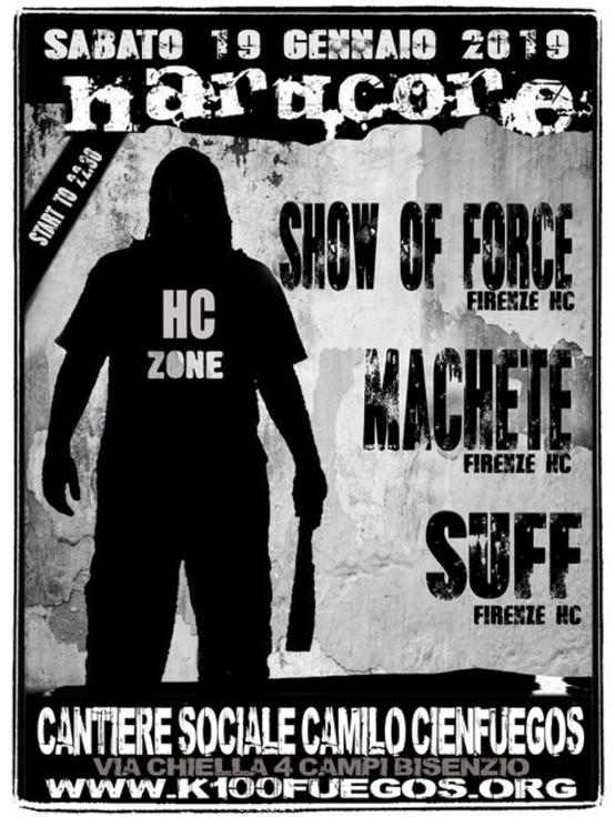 Show of Force - Suff - Machete
