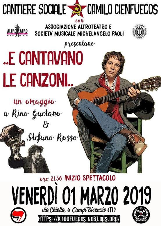 E Cantavano Le canzoni - Rino Gaetano e Stefano Rosso