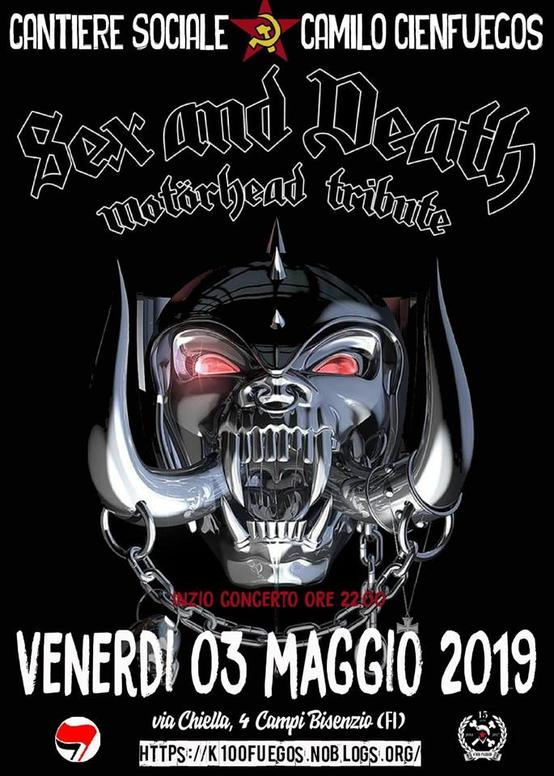 Sex and Death - Motorhead tribute Band