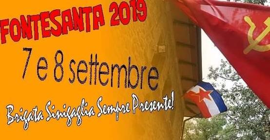 Fontesanta 2019 - Brigata Sinigaglia sempre presente!
