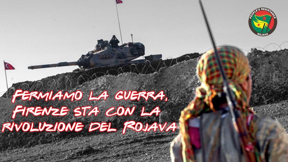 Fermiamo la guerra al Rojava - Tutte/i sotto il Consolato USA