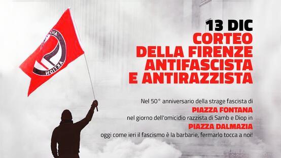 Piazza Dalmazia - Piazza Fontana: il fascismo è la barbarie!