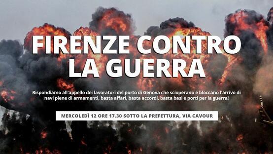 Al fianco dei portuali di Genova!