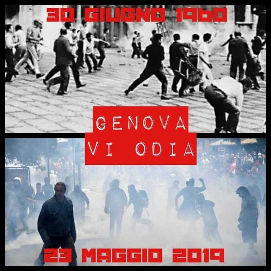Genova vi odia