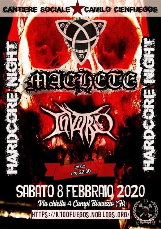 Hardcore Night - OSD, MACHETE, INVITRO