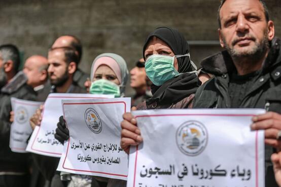 Prigionieri palestinesi covid19