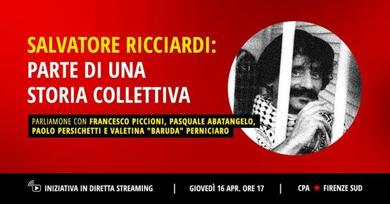 Salvatore Ricciardi, parte di una storia collettiva