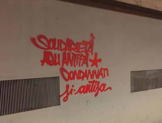 Solidarietà agli/alle Antifà - Firenze Antifascista contro fascisti, polizia e tribunali.