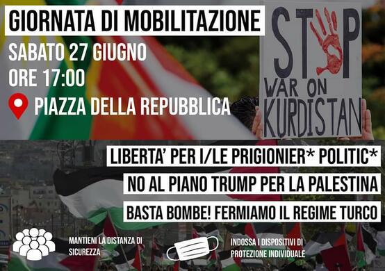 Giornata di mobilitazione e solidarietà internazionalista