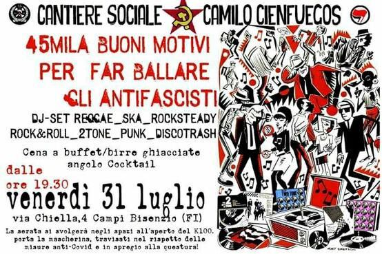crowdfunding Firenze Antifascista