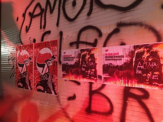 Firenze Antifascista corteo serale 4 Luglio 2020 - Solidarietà ai condannati!