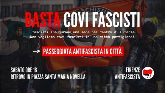 Basta covi fascisti!