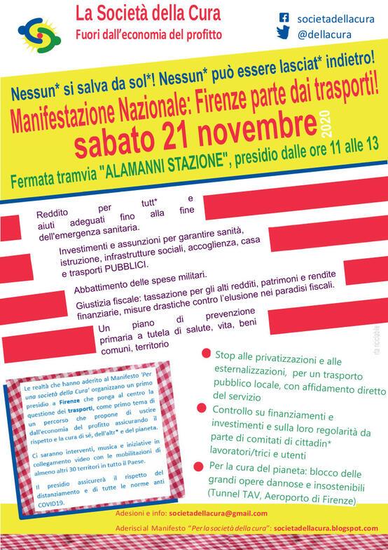 Firenze parte dai trasporti