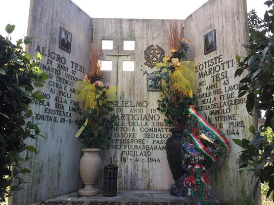 77° anniversario della battaglia di Valibona