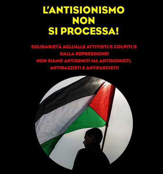 l'antisionismo non si processa
