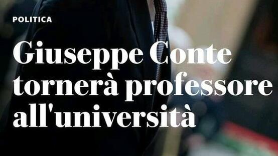 Non vogliamo Conte, pretendiamo l'università aperta!