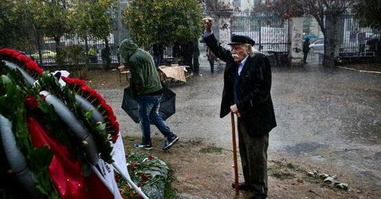 Ad un anno dalla morte di Manolis Glezos, partigiano della resistenza greca