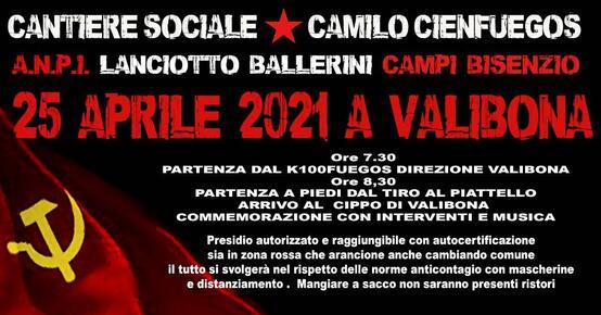 25 Aprile 2021 in Valibona