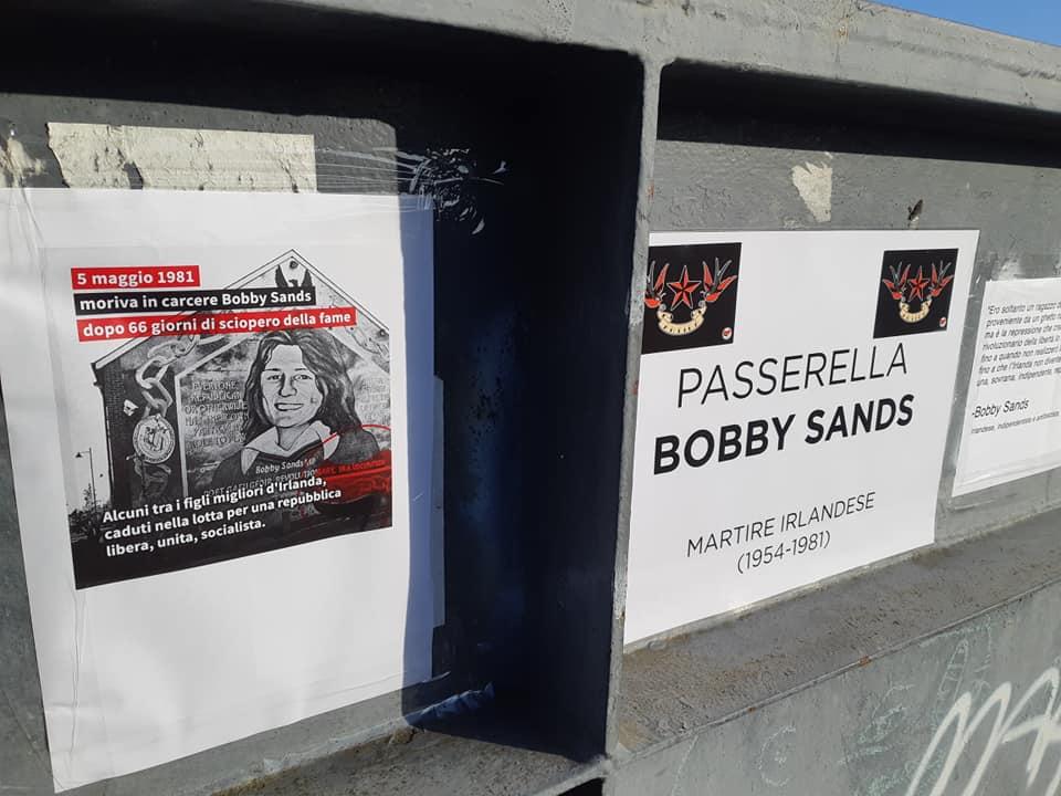 Giu' le mani fasciste da Bobby Sands