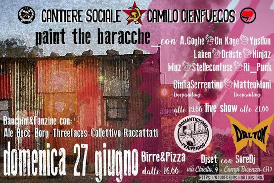 Paint the baracche