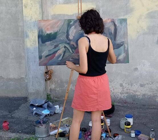 Painting the Baracche