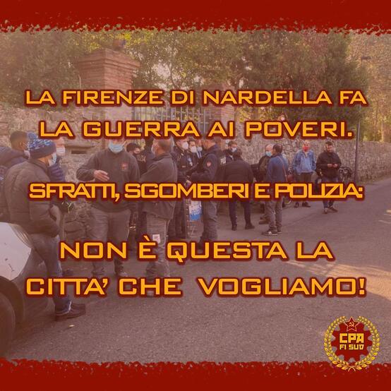 La Firenze di Nardella fa la guerra ai poveri