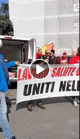 Firenze, il Collettivo di Fabbrica allo sciopero generale del sindacalismo di base